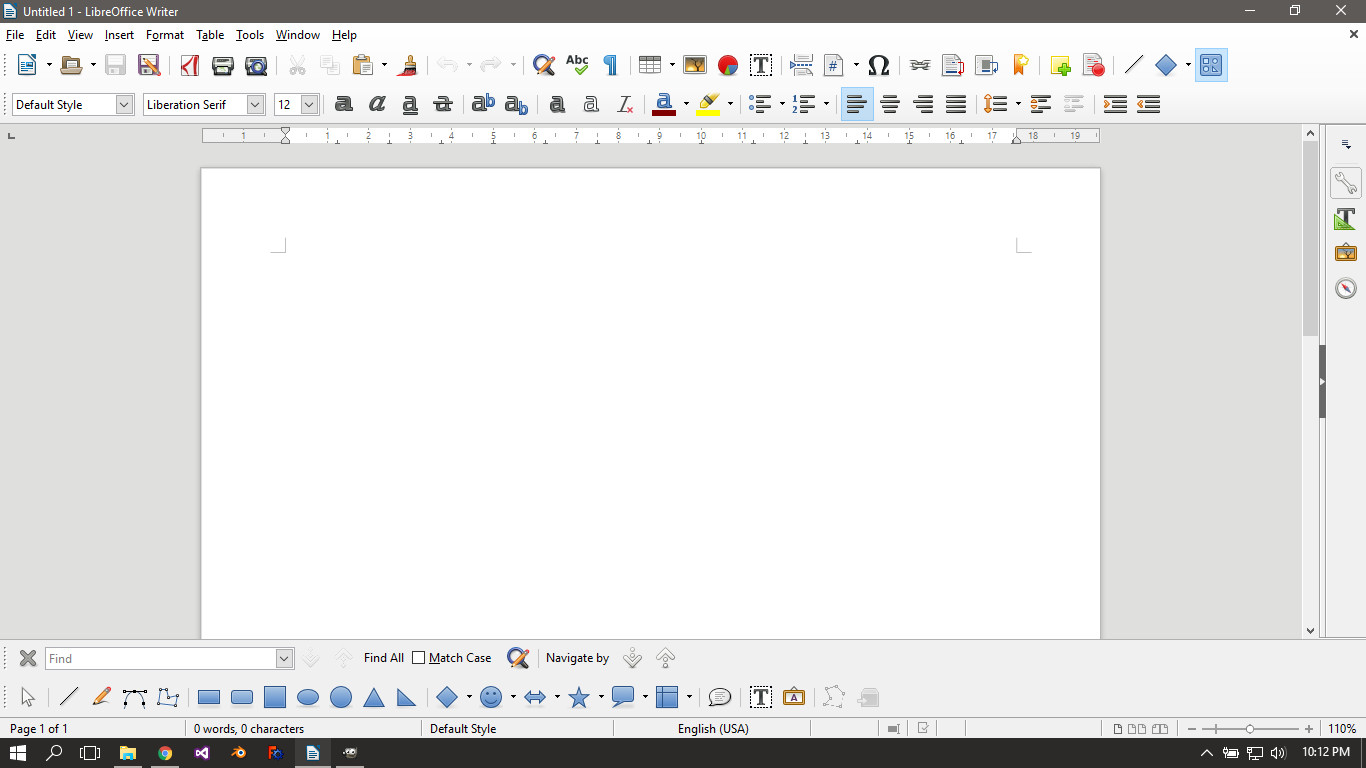 libre office 5.3 help manual