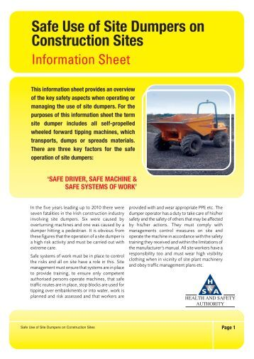 health and safety manuals templates ontarion construction