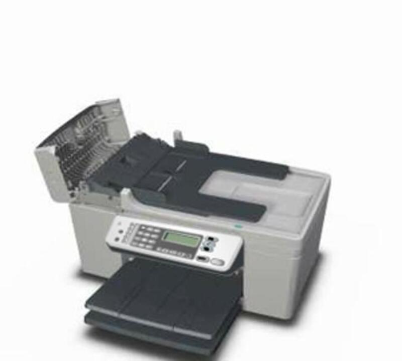 can you clean the printhead manually on hp6600 office jet