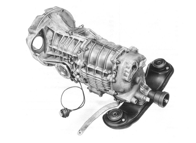 are 2008 porsche cayman manual transmissions limited slip