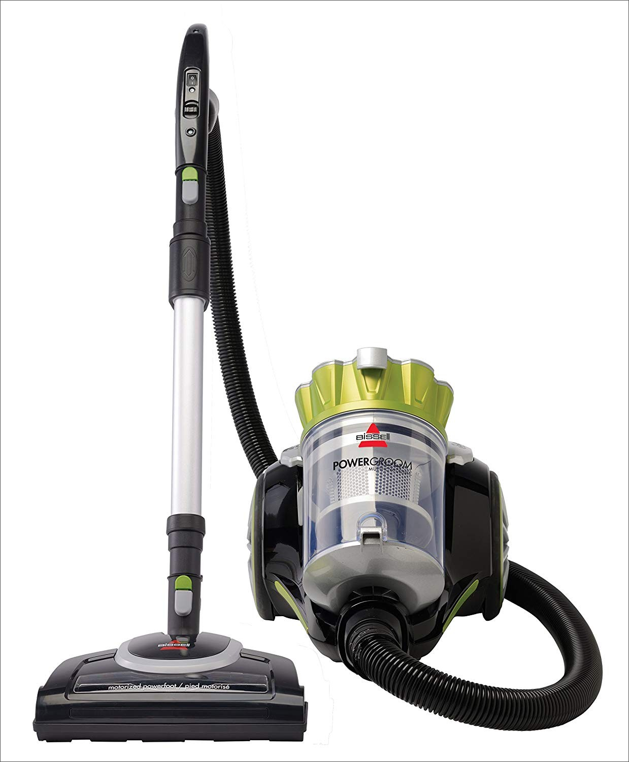 bissell powergroom multi-cyclonic bagless canister vacuum manual