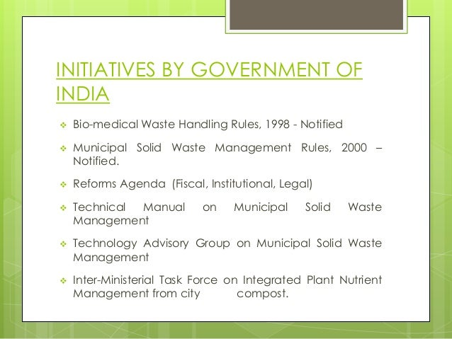 manual on municipal solid waste management 2000