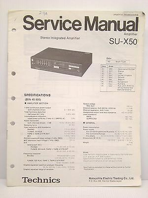 technics user manuals su g50