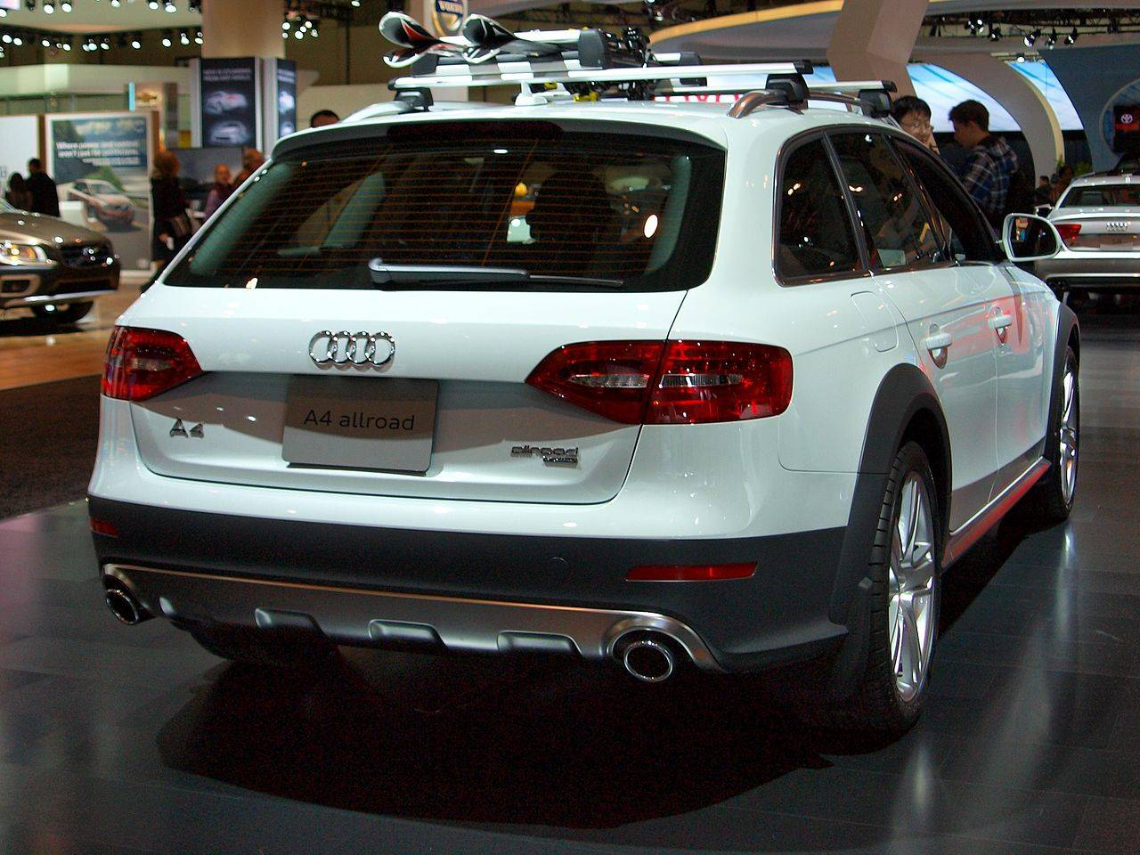 audi a4 allroad 2013 owners manual