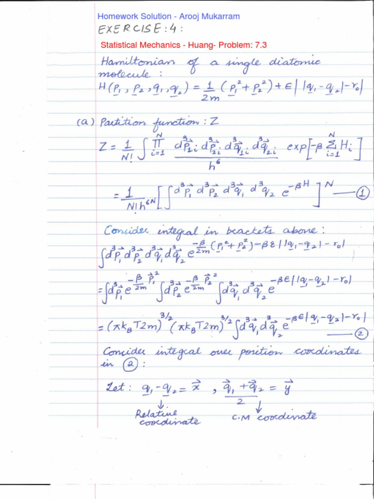 an introduction to thermodynamics and statistical mechanics solution manual pdf